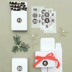 Geschenkdoosjes 4 x 8 x 10 cm 24 stuks wit