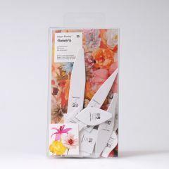 Sjablonenset papieren bloemen 13 st. Kerselaar,Dahlia,Lelie