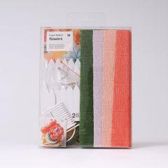 Knutselset papieren bloemen Chrysant