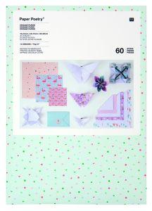 Origamipapier 70g 20-15-10cm 60stuks Tropical Spring