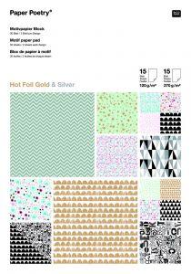 Blok papier A4, 120 - 270 g 30 vellen grafisch