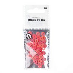 Katsuki kralen 6 x 1 mm 60 stuks roze