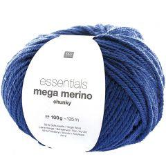 Mega Merino 100 g blauw