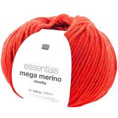 Mega Merino 100 g rood