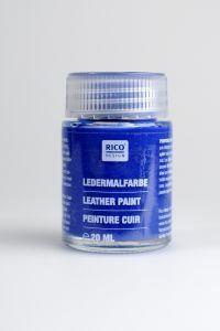 Lederverf 20 ml blauw