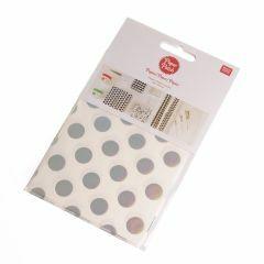 PaperPatch papier 30 x 42 cm 3 st. dots iriserend/wit