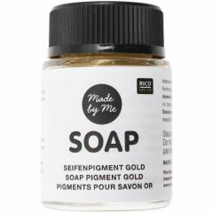 Pigment voor zeep 20 ml goud