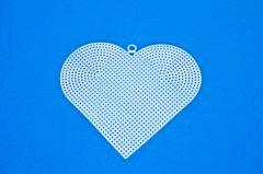 Borduurstramien plastic hart 15 cm