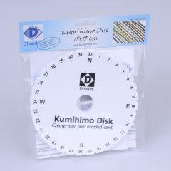 Kumihimo schijf rond 15 cm