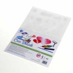 Krimpfolie A4, 5 stuks transparant