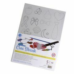 Crea Shrink A4, 5 stuks glashelder