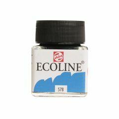 Ecoline 30 ml hemelsblauw (cyaan)