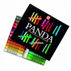 Panda oliepastels 24 stuks