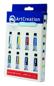 Art Creation acryl set 8 x 12 ml