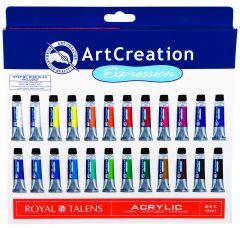 Art Creation acryl set 24 x 12 ml