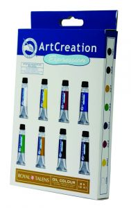 Art Creation olie set 8 x 12 ml