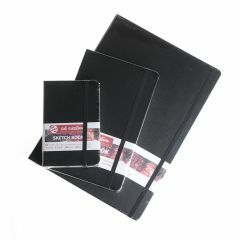 Art Creations schetsboek 21 x 30 cm zwart
