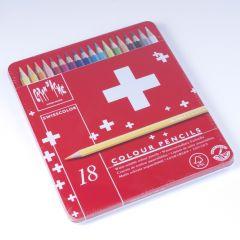Caran D'Ache Swisscolor kleurpotloden 18 stuks
