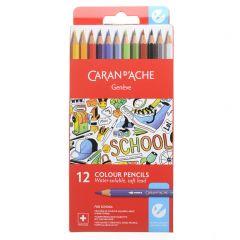 Caran D'Ache School Line Kleurpotloden 12 stuks