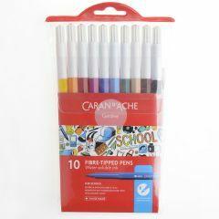 Caran D'Ache School Line viltstiften 10 stuks