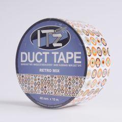 Duct Tape 48mm x 10 m Retro Mix