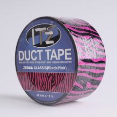Duct Tape 48mm x 10 m Zebra Pink