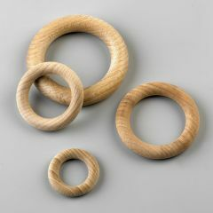 Houten ring 34 mm