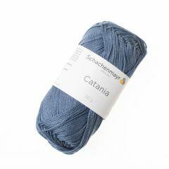 Catania garen katoen 50 g 125 m grijsblauw