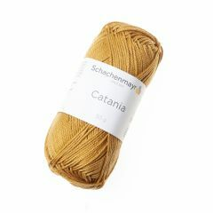 Catania garen katoen 50 g 125 m curry