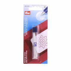 Vervangstiften voor vulpotlood textiel 6 stuks wit