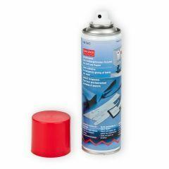 Spray tijdelijk fixeren stof en papier