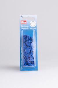 Color Snaps rond 30 stuks 12,4 mm royalblauw