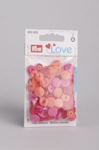 Prym Love Color Snaps 12,4 mm 30 stuks rood mix