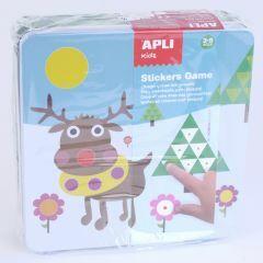 Apli Kids knutselset stickers Winter 3+