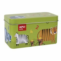 Apli Kids domino 36 stukken Dieren 3+