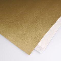 Kunstleder ca. 68 x 50 cm goud