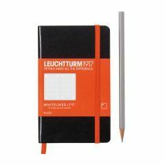 Leuchtturm1917 notitieboek pocket A6 Whitelines gelijnd ZW