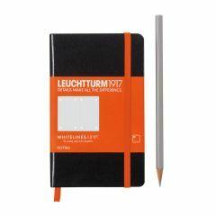 Leuchtturm1917 notitieboek pocket A6 Whitelines gestipp. ZW