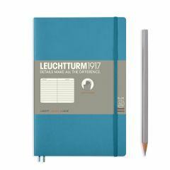 Leuchtturm1917 notitieboek paperback B6+ gelijnd nordic BL