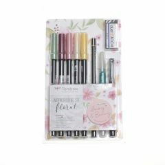 Tombow Watercolouring set Floral