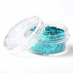 Superstar chunky glittermix 8 ml Laser Turquoise