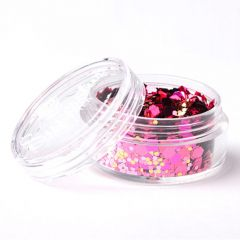 Superstar chunky glittermix 8 ml Pink Lady