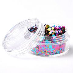 Superstar chunky glittermix 8 ml Carnival