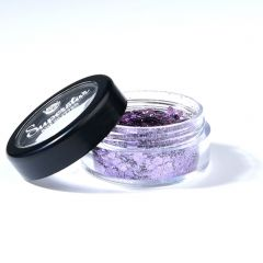 Superstar bioafbreekbare glitters 6 ml chunky mix violet
