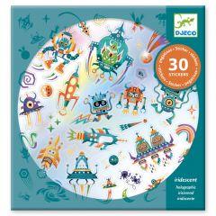 Djeco stickers 30 stuks Intergalactic