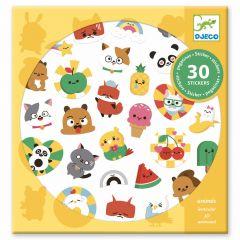 Djeco stickers 30 stuks Emoji