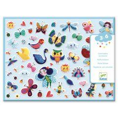 Djeco puffy stickers Little Wings 3-6 jaar