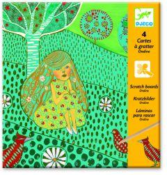 Djeco kraskaarten Ondine 9-15 jaar