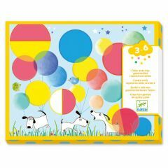 Djeco set collage Magic Circles 3-6 jaar