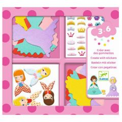 Djeco stickerset I Love Princesses 3-6 jaar